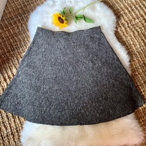 Max Studio grey sweater skirt